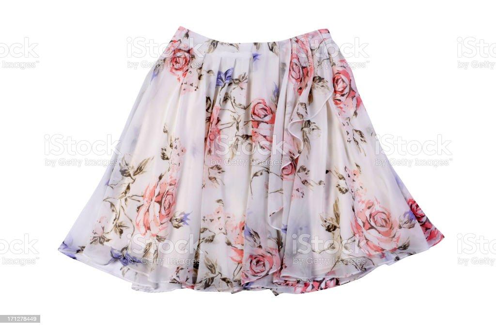 Woman skirt stock photo