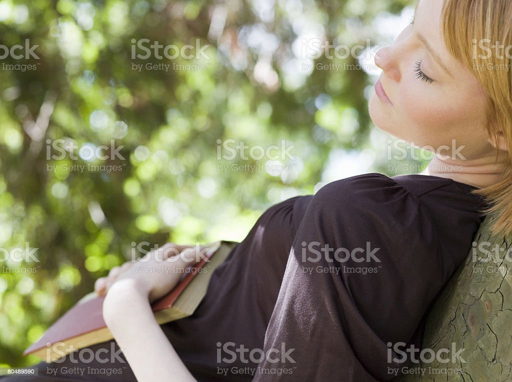 A woman sleeping 免版稅 stock photo