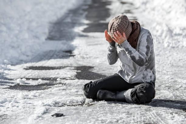 Woman slipped on the winter road accident and injury black ice and picture id1180385993?b=1&k=6&m=1180385993&s=612x612&w=0&h=jsmmrqr1seybokcuevor4p8gnpyeyrdgewy60x2gxlu=