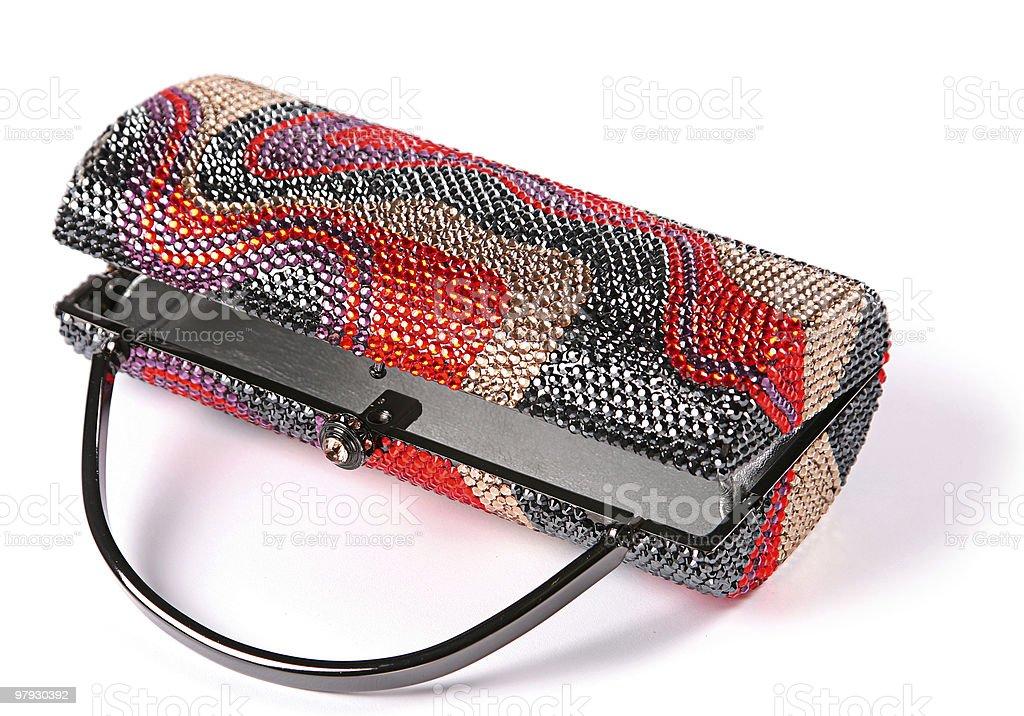 Woman small bag royalty-free stock photo