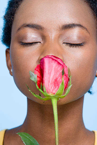 5,613 Black Woman Smelling Flowers Stock Photos, Pictures & Royalty-Free  Images - iStock