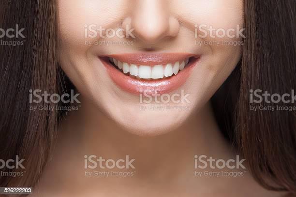Woman Smile Teeth Whitening Dental Care Stockfoto en meer beelden van Alleen volwassenen