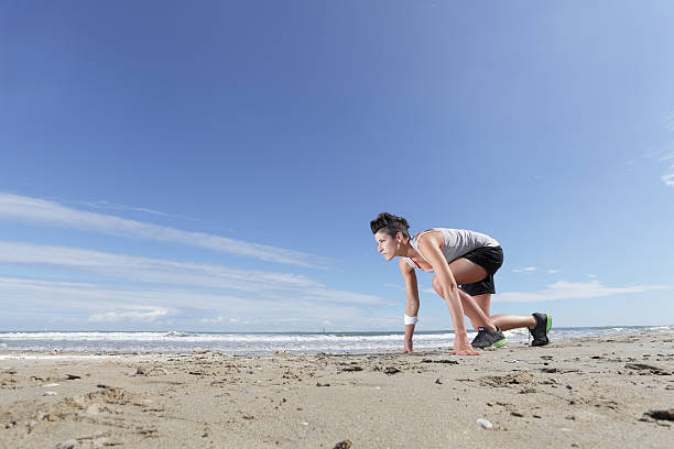 woman sport stock photo