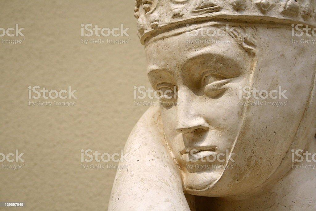 woman statue stock photo