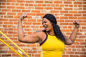 istock Woman strength, determination, healthy lifestyle 1257963660