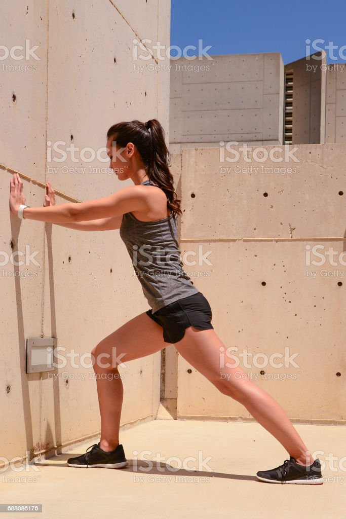 Woman Stretching – Foto