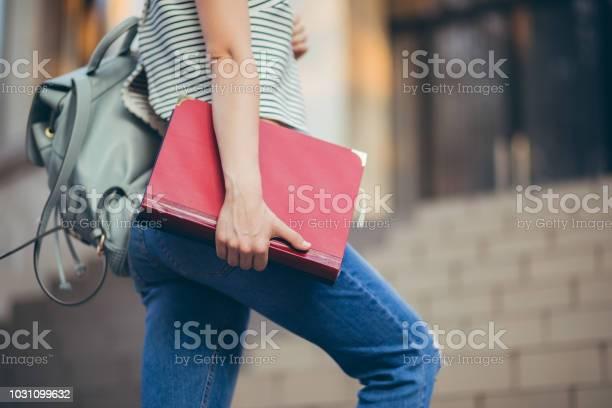 Woman student climbing stairs picture id1031099632?b=1&k=6&m=1031099632&s=612x612&h=l45vvqz1zoprihojtqipea4 v u8rg8fvmht4pomiaa=