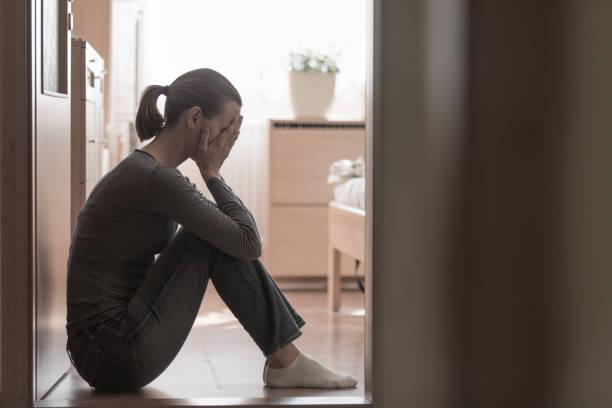 Frau leidet an Stress – Foto