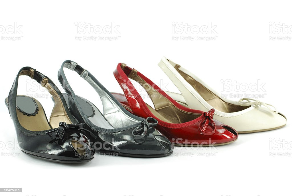 woman summer high heel shoes royalty-free stock photo