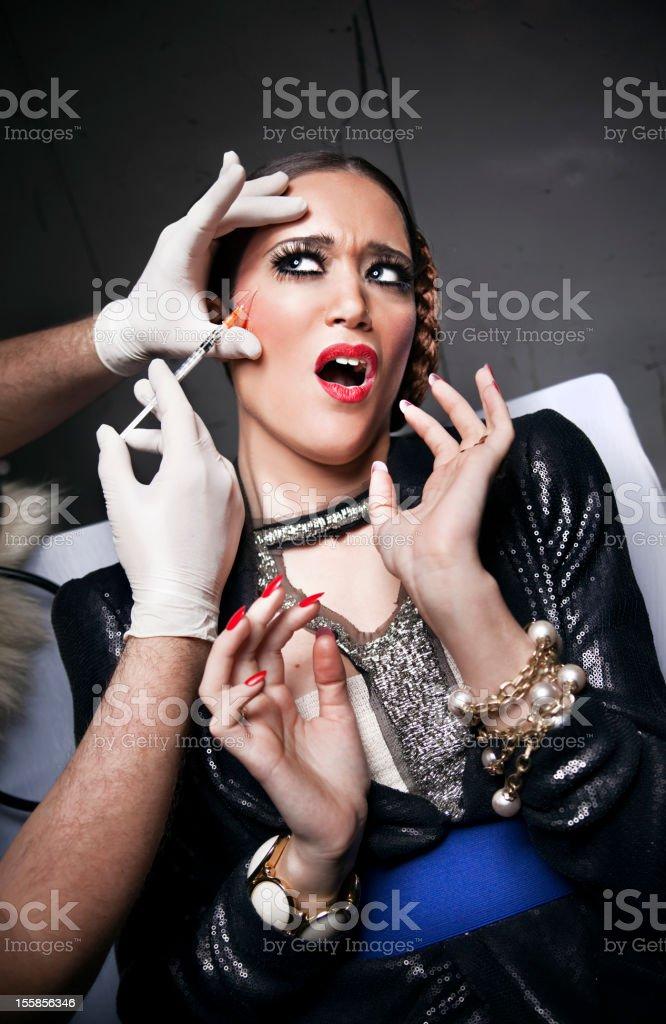 Woman surgery stock photo