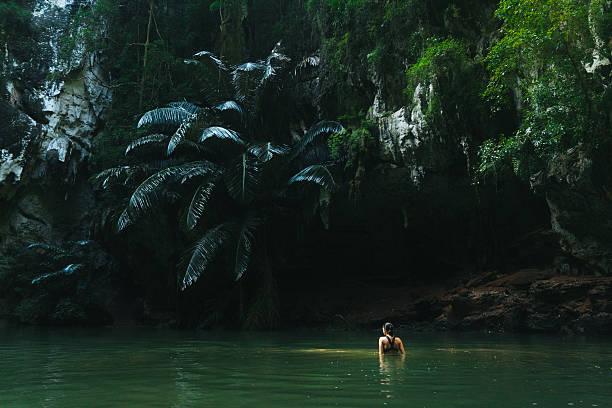 Woman swimming in lagoon picture id636596026?b=1&k=6&m=636596026&s=612x612&w=0&h=8gazv u ttm7owywcaal5ekc8p2xb397iqbclts6g4q=