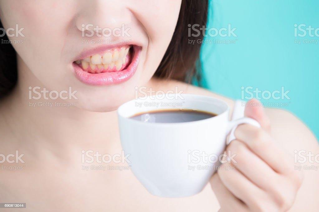 woman take cafe stock photo
