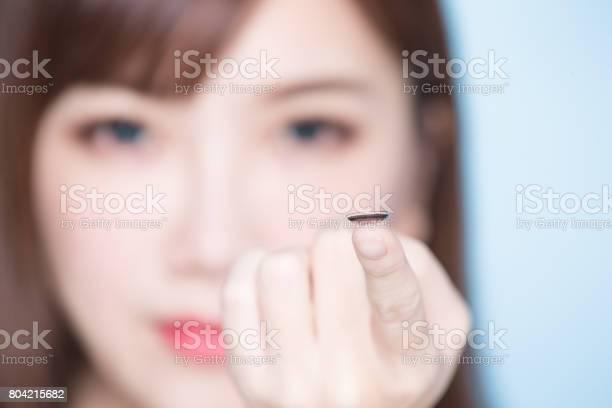 Woman take contact lenses picture id804215682?b=1&k=6&m=804215682&s=612x612&h=2abb6soyjdqfb 7wr3xp8tpivuzmpi4cosb8aimb hw=