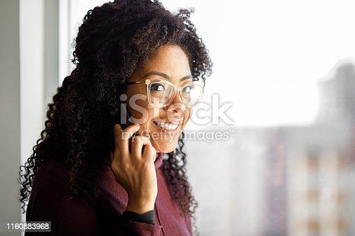 1150572074istockphoto Woman talking on phone 1160883968