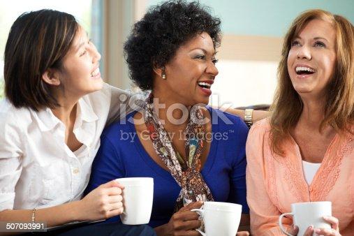 istock Woman Talking 507093991
