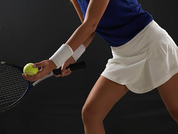 mulher jogador de tênis - swollen arm woman - fotografias e filmes do acervo