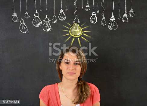 istock Woman Thinking Big Idea 528744651