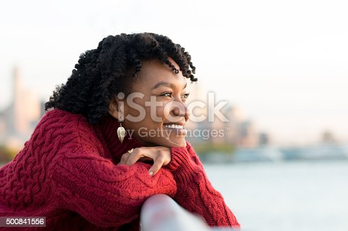 istock Woman thinking outdoor 500841556