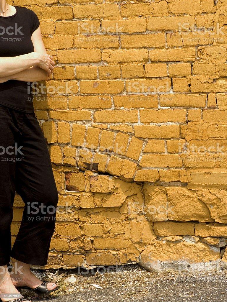 woman torso in black royalty-free stock photo
