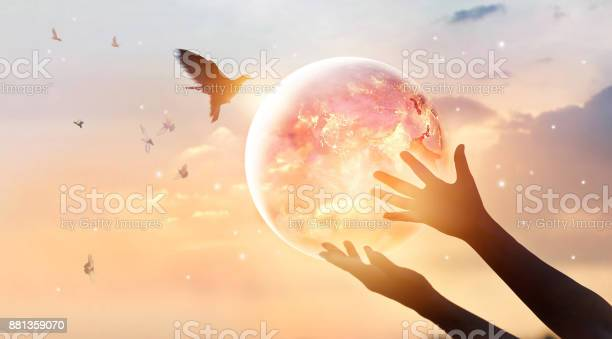 Woman touching planet earth of energy consumption of humanity at and picture id881359070?b=1&k=6&m=881359070&s=612x612&h=yib k5d8ugtbdt yzs0fh0euhhd3w1ikeghquvvwuou=