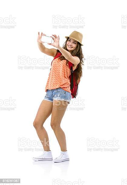 Woman tourist taking selfie picture id516281087?b=1&k=6&m=516281087&s=612x612&h=evsopwx50isbxblnszv4tunnfldscn64o7yxsybfaqm=