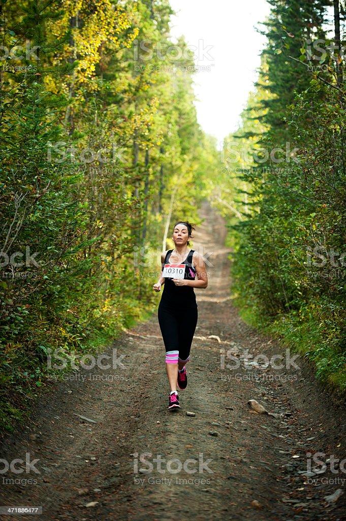 hot sale online 49487 c9a0a Donna Trail Running - Fotografie stock e altre immagini di ...