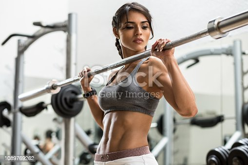 Women, Exercising, Healthy Lifestyle, One Woman Only, Gym