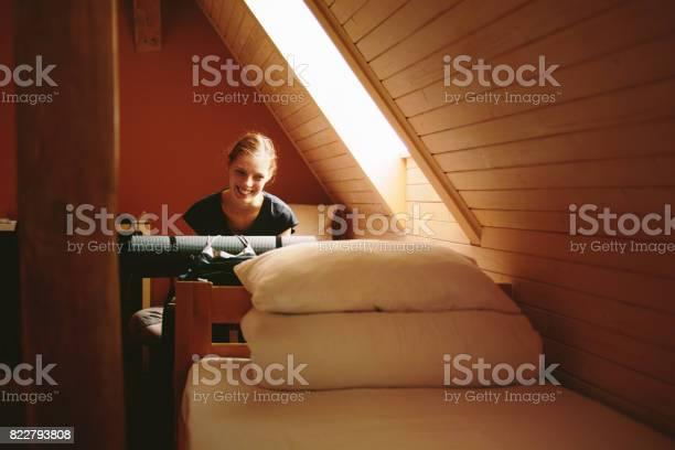 Woman traveler sitting on the bed picture id822793808?b=1&k=6&m=822793808&s=612x612&h=s99csz 1ufoamdfoaypq3e13jdwsrqyhq elzqypct8=