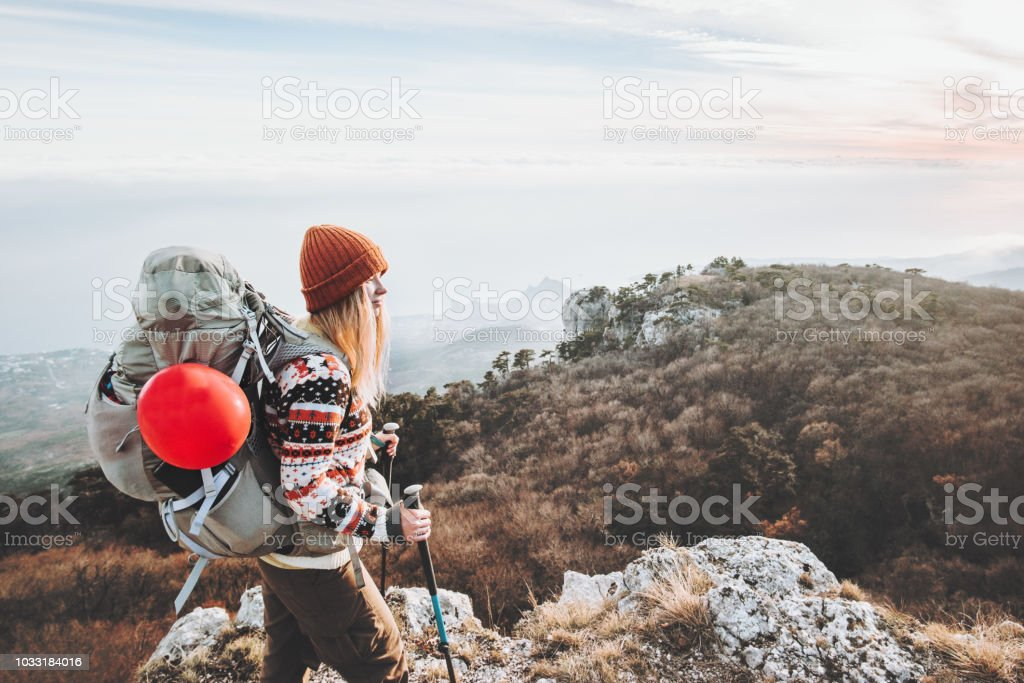 Sac Libre Droit À Avec Dos Femme Voyageur De Photo wOvN0ymn8