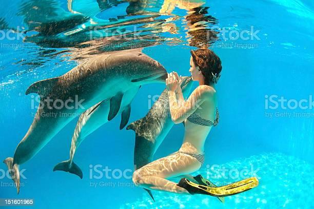 Woman underwater interacting with three dolphins picture id151601965?b=1&k=6&m=151601965&s=612x612&h=nnfzx3puvj3qz5xk 67j68p5 d j3rdxszcgacg3dlq=