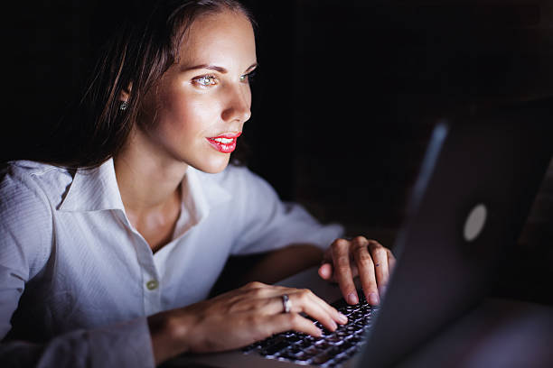 Woman using computer late at night picture id491697946?b=1&k=6&m=491697946&s=612x612&w=0&h=ql6ubbon5g8 yzf3nbmqv7bzdt2ylkkhn9 bpyvpev0=