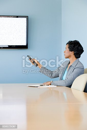 649403294 istock photo Woman using video conferencing 535025081