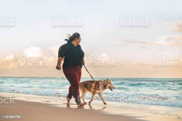 Woman walking at sunset with her siberian husky dog on the beach picture id1151642752?b=1&k=6&m=1151642752&s=612x612&h=wau8kdqe tup 7hke6 pkl733t9enucxjegrlhy0wje=