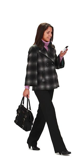 Woman Walking stock photo