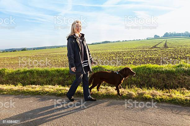 Woman walking with dog healthy lifestyle picture id514584621?b=1&k=6&m=514584621&s=612x612&h=3pqlnnatx5fv9005ijhb8qy4st4cz33wahfeuelz5iy=