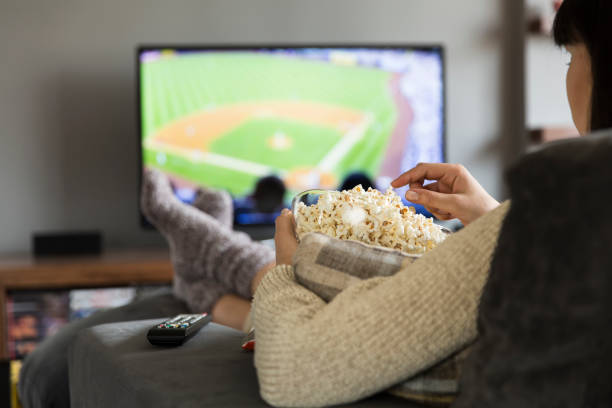 74 Watching Baseball On Tv Stock Photos, Pictures & Royalty-Free Images -  iStock