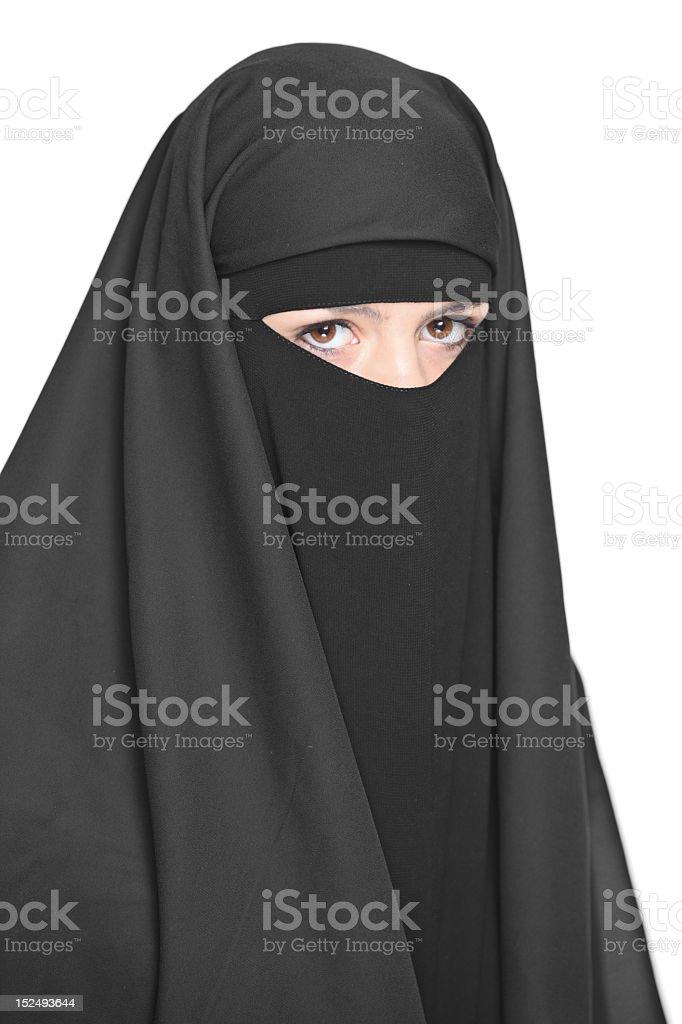 Veiled Frau – Foto