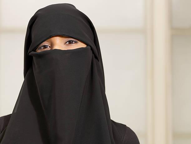 Femme portant un burkha - Photo