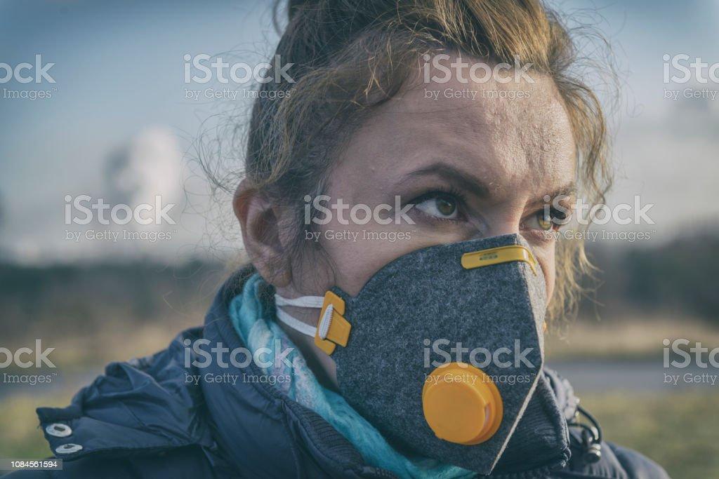 masque anti pollution femme
