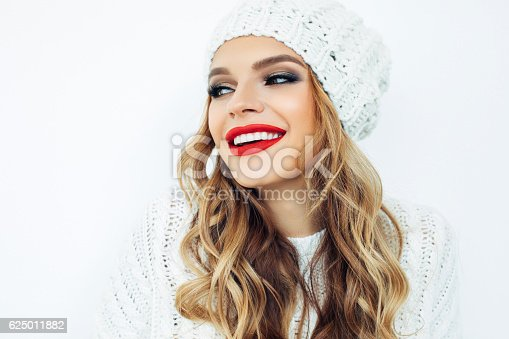 istock Woman wearing hat 625011882