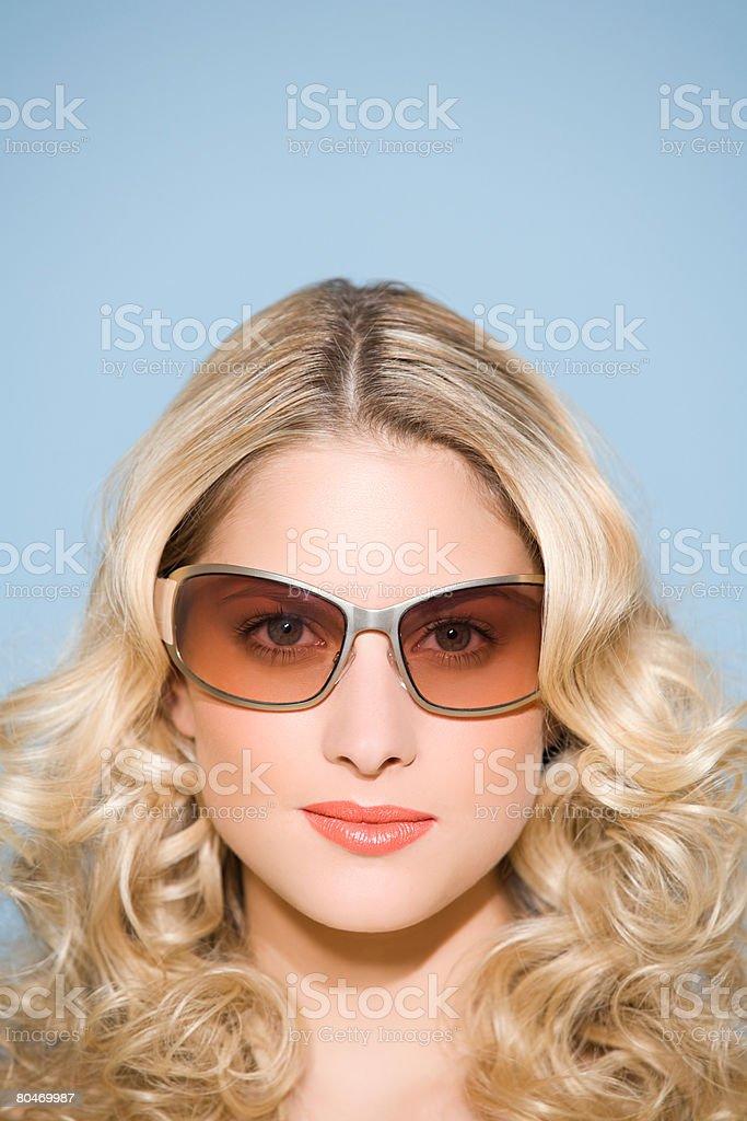 여성 선글라스 royalty-free 스톡 사진