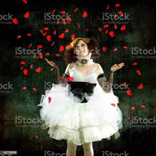 Woman wearing tutu with falling rose petals picture id143176058?b=1&k=6&m=143176058&s=612x612&h=dawf gbnjccrjia  wnr0tzmsks5 stpaf8xm we7i8=