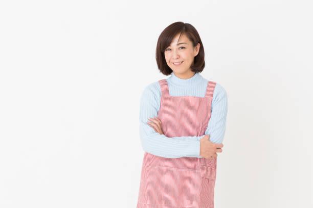 mulher que cooks - dona de casa - fotografias e filmes do acervo