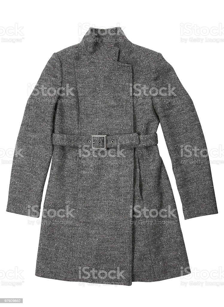 Woman winter, clothes royalty-free stock photo