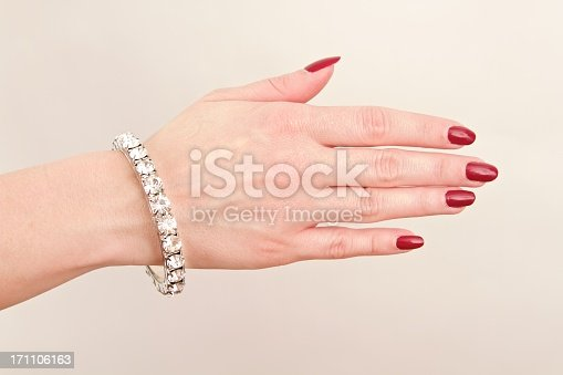 Woman with bracelet