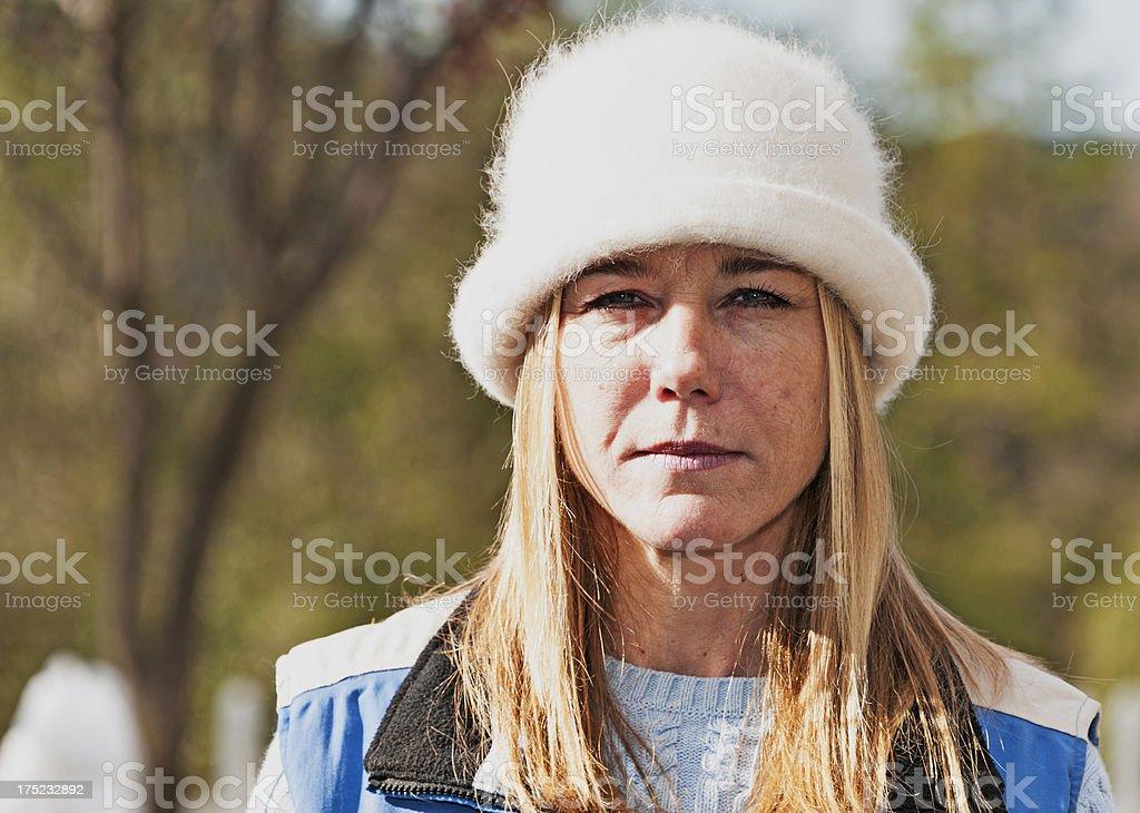 Woman with Attitude royalty-free stock photo