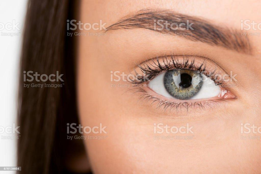 Frau mit schönen Augen – Foto