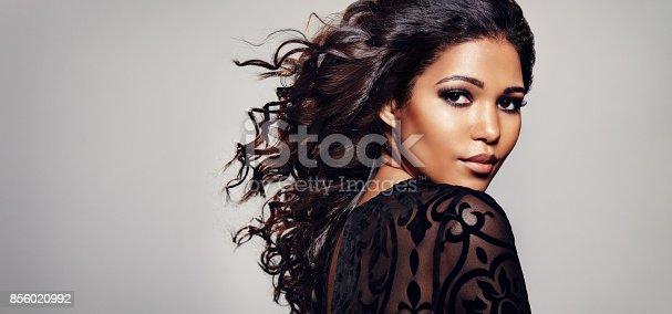 istock Woman with beautiful skin 856020992