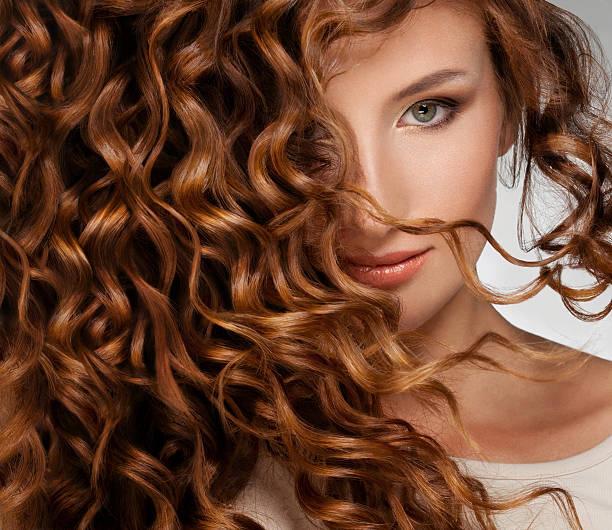 Woman with Beautifull Hair stock photo