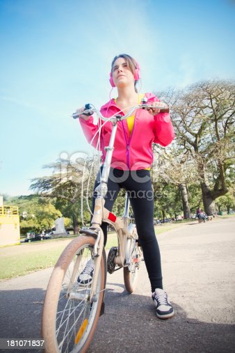 479652946istockphoto Woman with Bike 181071837